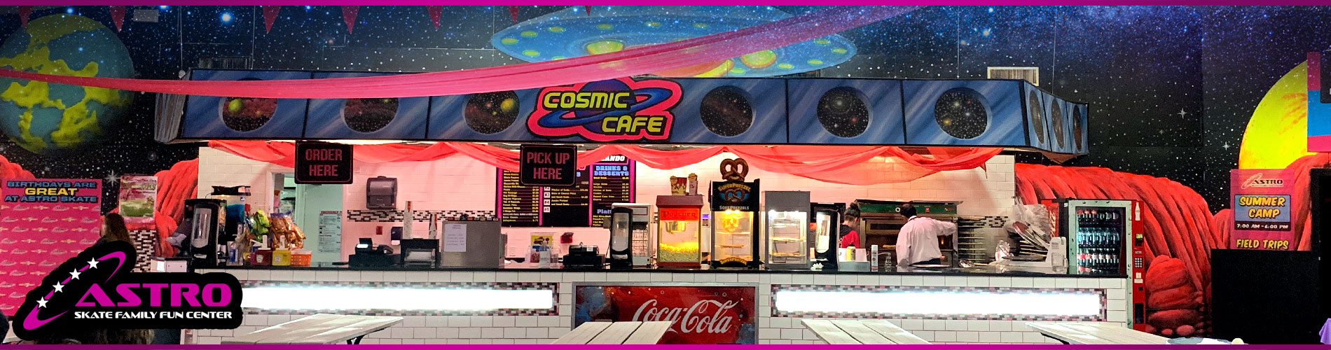 Astro Cosmic Cafe – Astro Skating Center